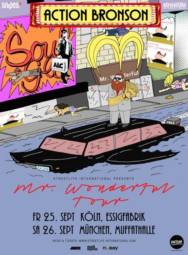Action Bronson kommt auf der Mr. Wonderful Tour auch nach Deutschland | Easy Rider Musikvideo
