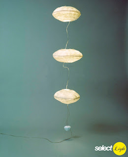 Courant d'Air Lamp by Celine Wright