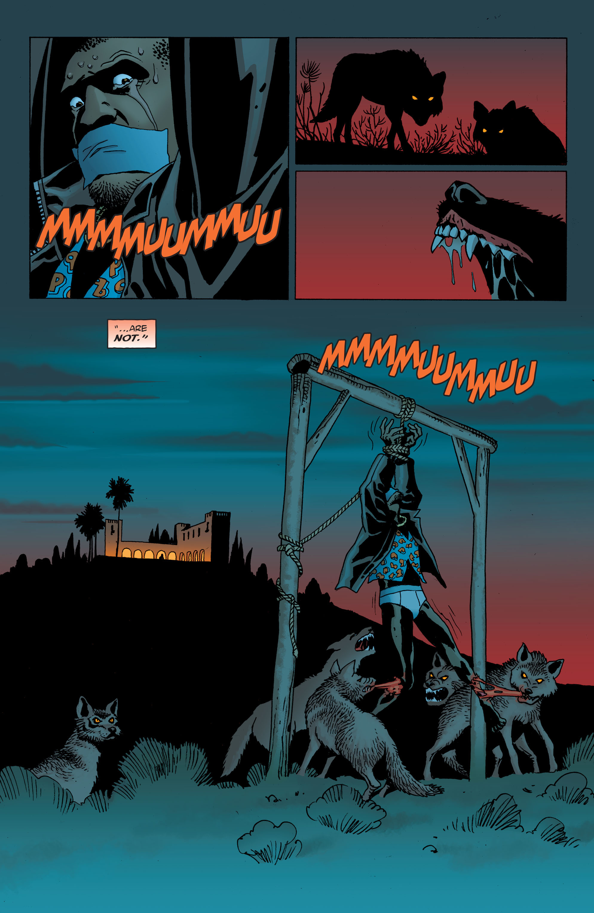 100 Bullets: Brother Lono Full Page 55