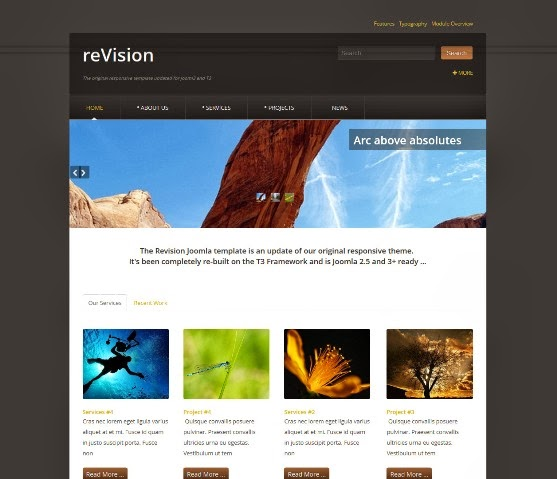 reVision Joomla Template