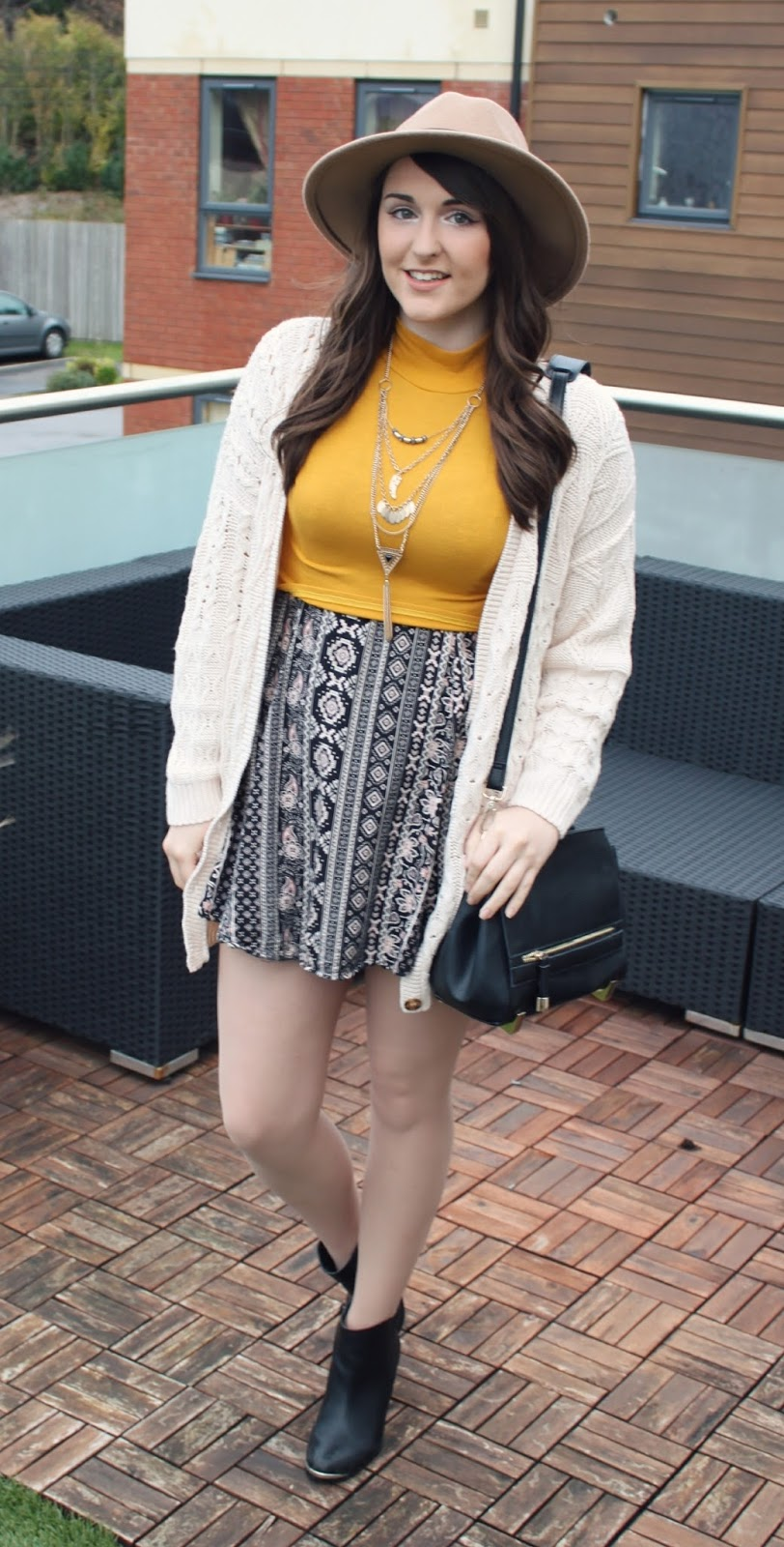 mustard-yellow-missguided-top-and-aztec-glamorous-dress