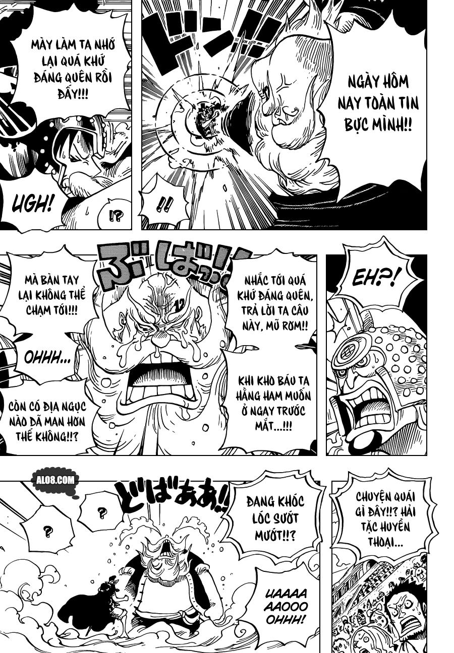 One Piece Chapter 717: Những người Dressrosa bị lãng quên 004