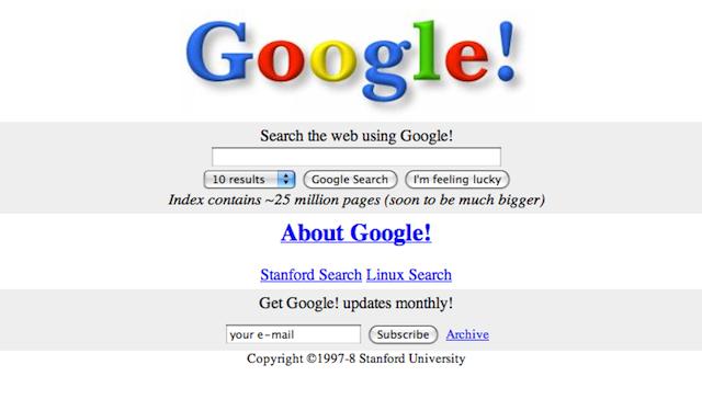 Ulang Tahun Google ke 13