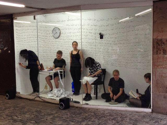 Performancewoche Zeitzelle
