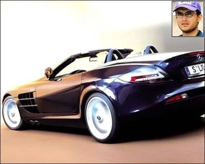 Dada owns 20 Mercedes Benz cars