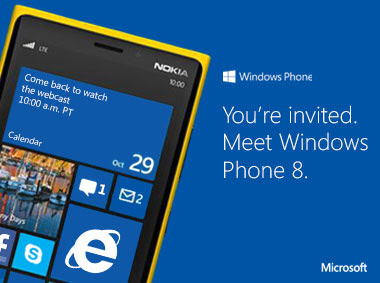 Windows Phone 8 Event from California, USA