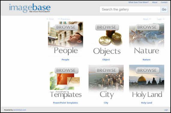 http://www.softandapps.info/2013/08/12/imagebase-banco-de-imagenes-libres-para-usar-en-nuestros-proyectos/