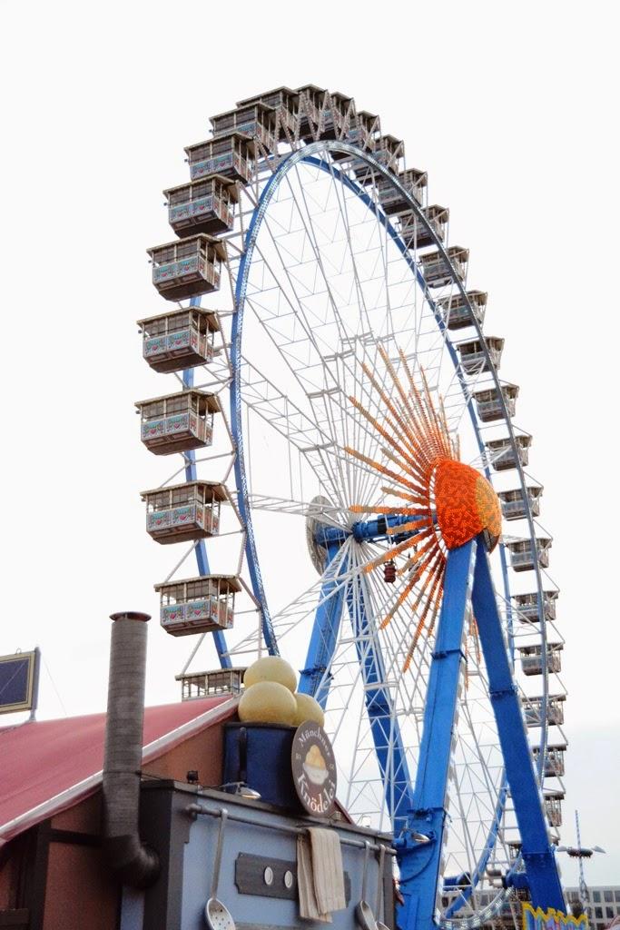 Oktoberfest Carnival 2014 Ferris Wheel