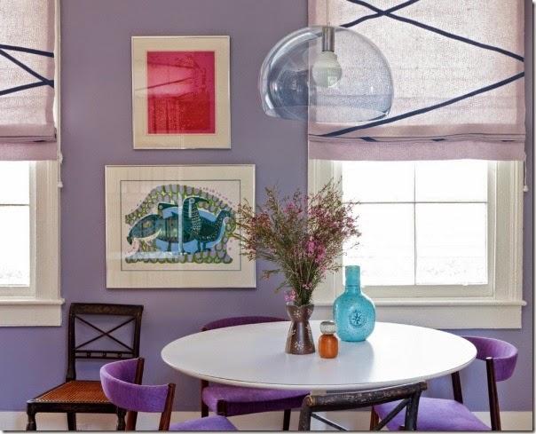 los ambientes, sobretodo si se combina con acabados y muebles blancos