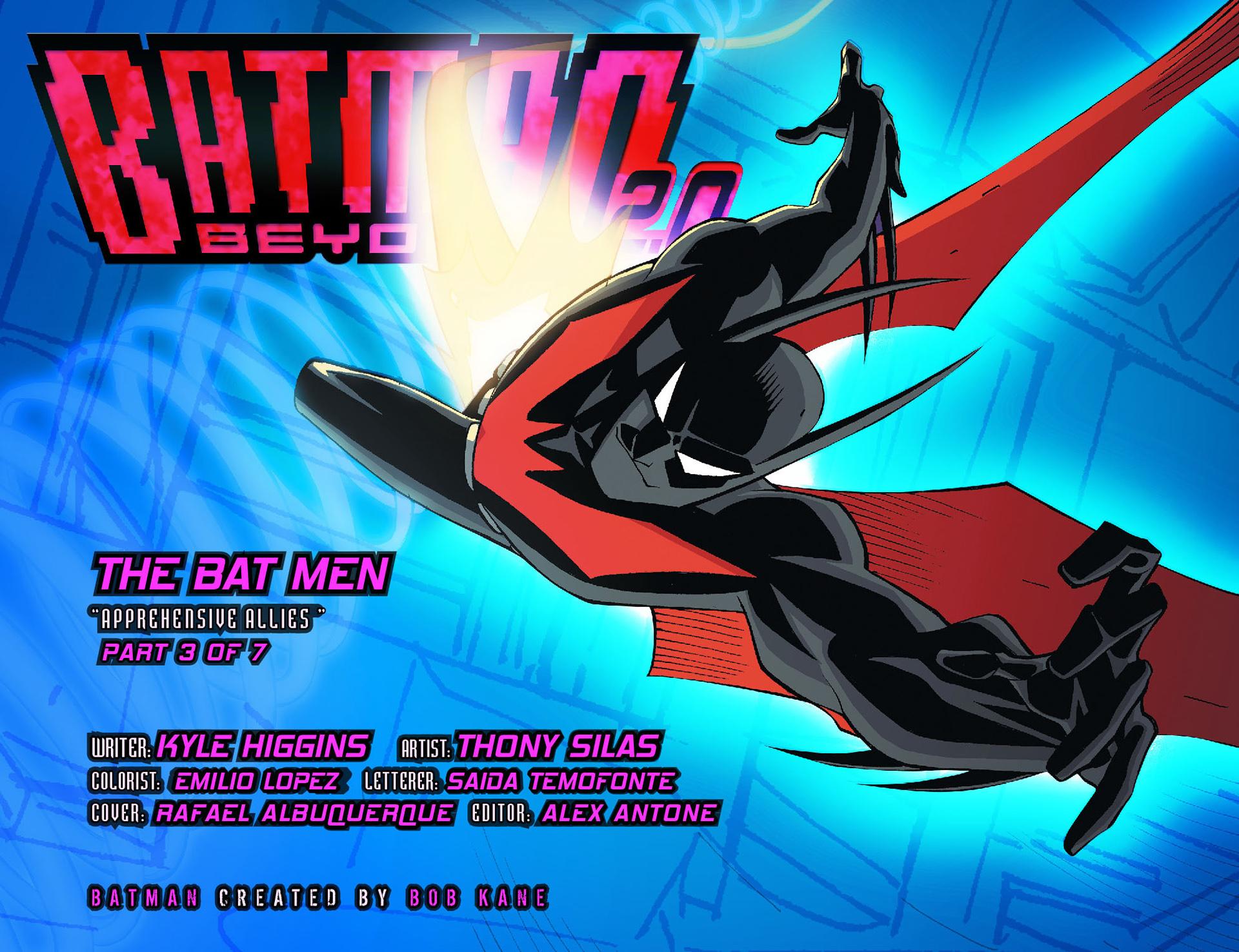 Batman Beyond 2.0 #11 #30 - English 2