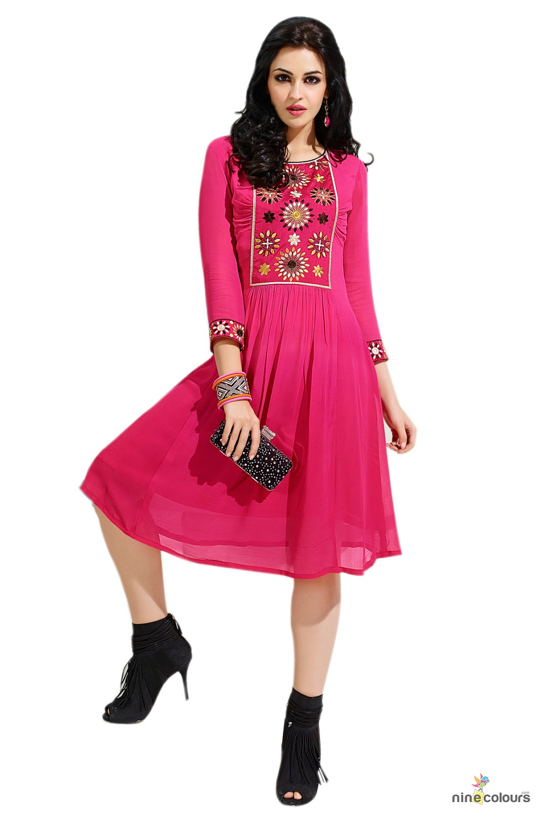 Latest collection online online designer kurtis sale in india for Online designs