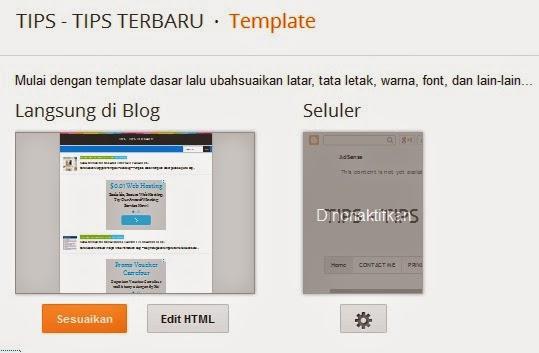 CARA MUDAH EDIT HTML BLOGGER TERBARU DAN CARA MENGGUNAKANNYA