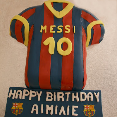 messi barcelona birthday cake