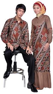 Model baju batik muslim terbaru 2013 Model Baju Batik