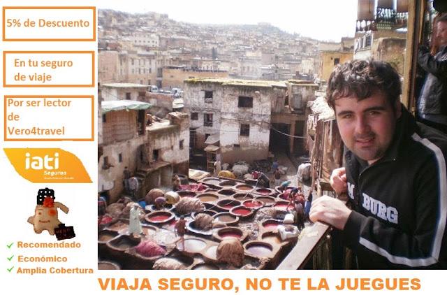5% de descuento en Iati Seguros. (Foto: Fez, Marruecos)