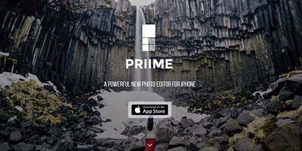 Priime, Aplikasi Foto Buatan Para Fotografer