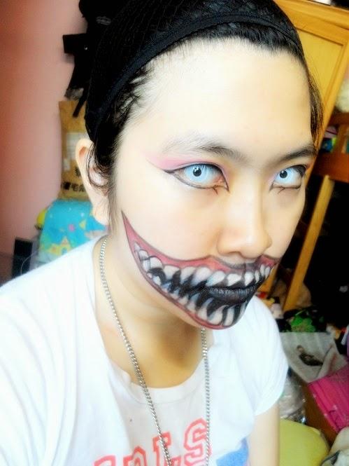 サイザヌリ: Dramatic Monster Mouth Make Up