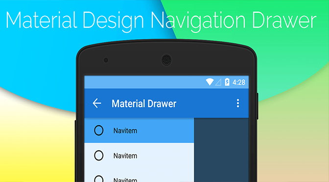 android navigation drawer speed 2