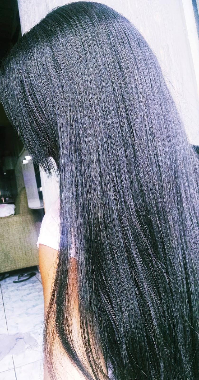 Henê indiano Divina Dama preto azulado