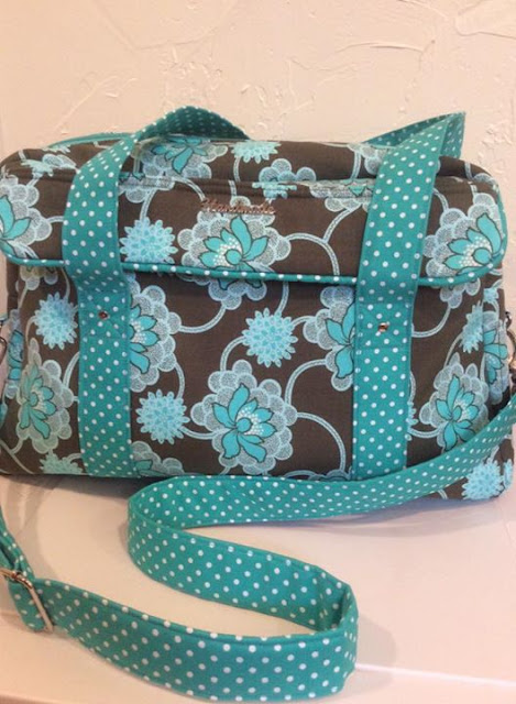 The Nappy bag Pattern by Mrs H - Sewn by Pat DeVore