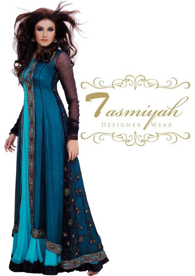 EmbroideredPishwasDresseswwwShe9blogspotcom252812529 - Tasmiyah Designer Collection Long Shirt in Pishwas