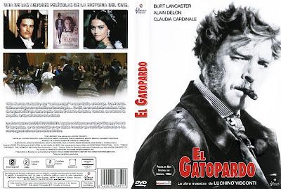 Carátula dvd: El gatopardo (1963)
