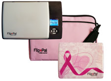 Olive Tree Genealogy Blog: Get a Pink Flip-Pal Mobile Scanner Bundle for Breast Cancer Awareness Month