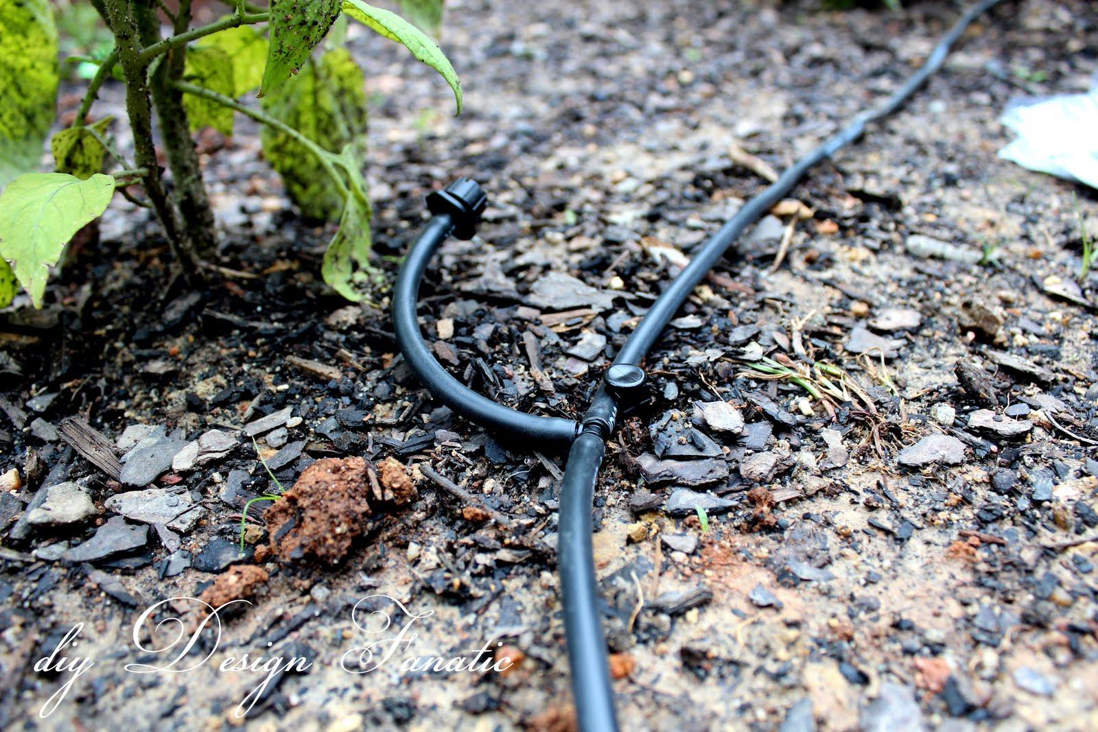 Diy design fanatic install a drip irrigation system to for Design a garden irrigation system