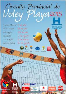 Circuito Provincial de Verano de Voley Playa Diputación Huelva