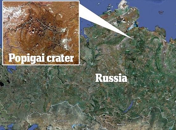 Crater Popigai