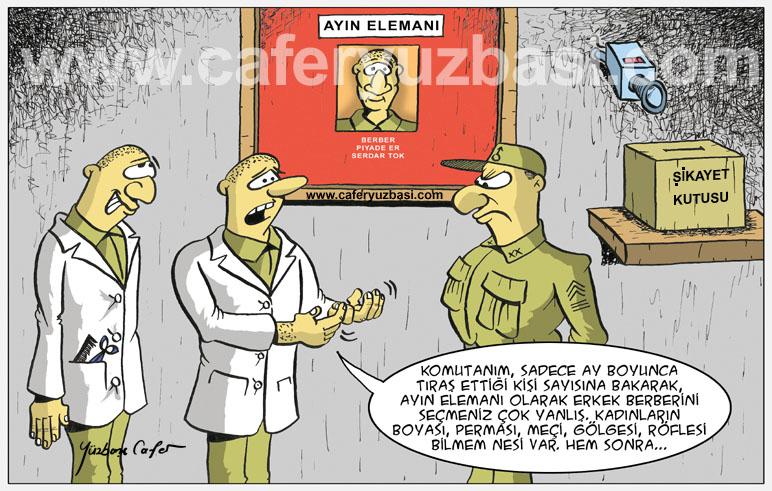 ayin elemani-Kadinlar Asker Olursa?
