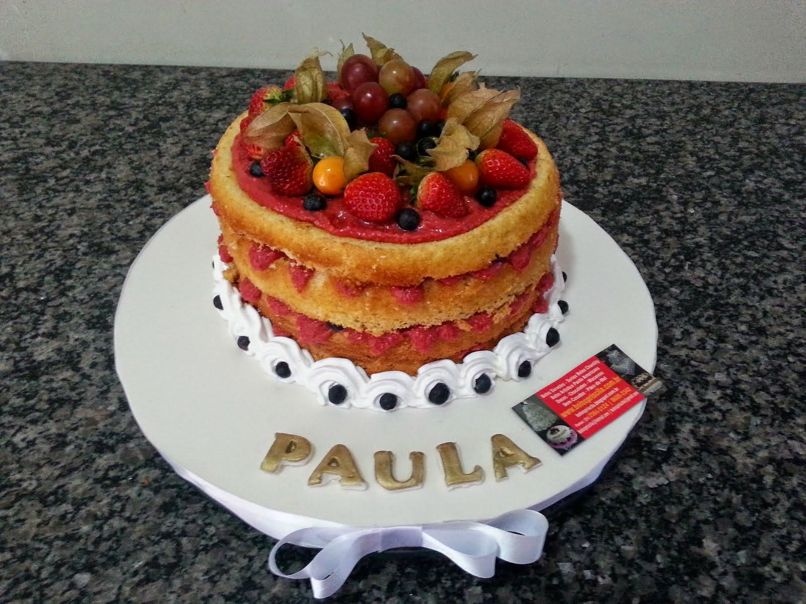 Naked Cake - Rustico sem Cobertura