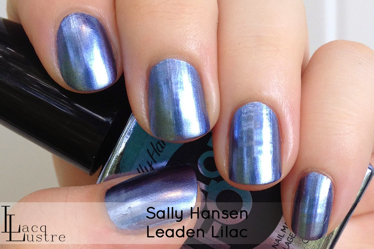 Sally Hansen Leaden Lilac swatch