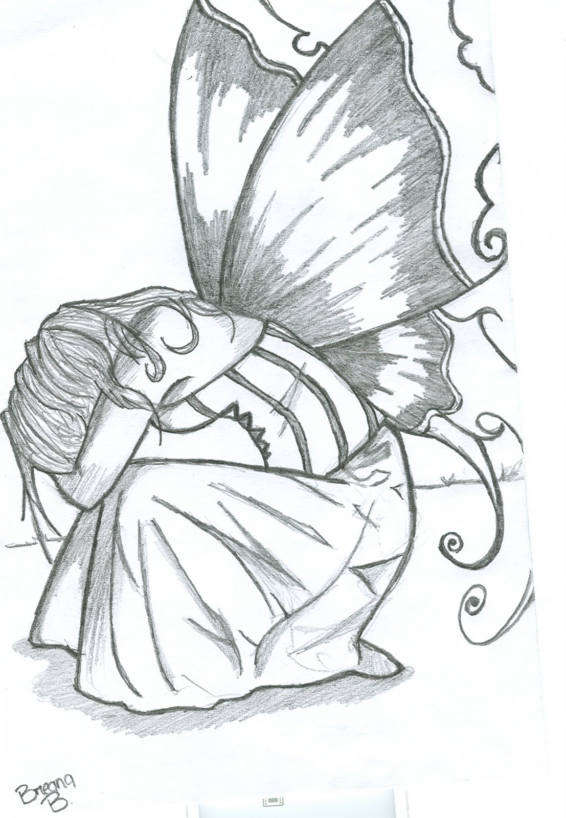 Amazing fairy drawing wallpapers free images fun for Easy and amazing drawings