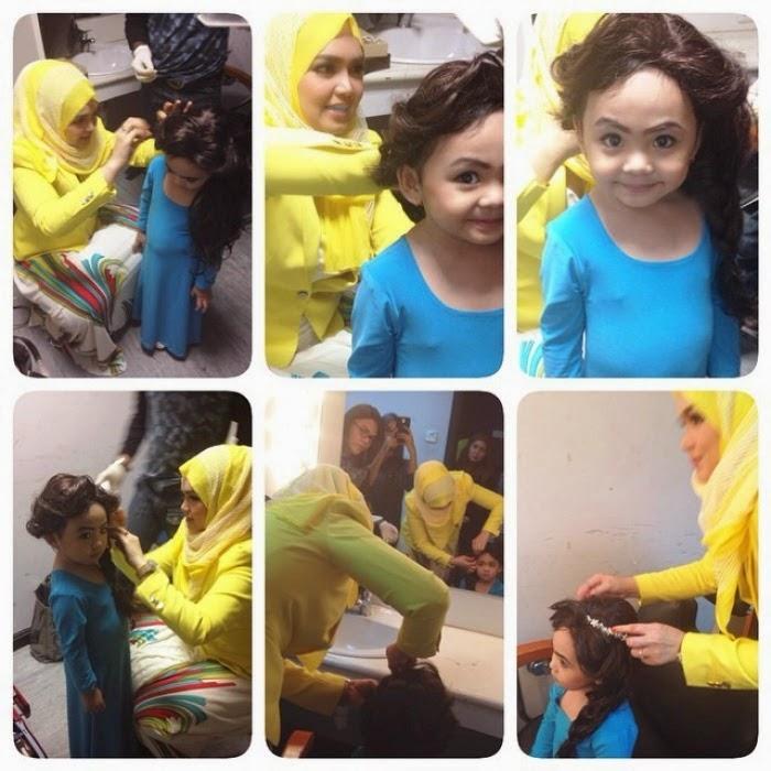Apabila Dato Siti Nurhaliza dandan anak Siti Saerah 5 Gambar