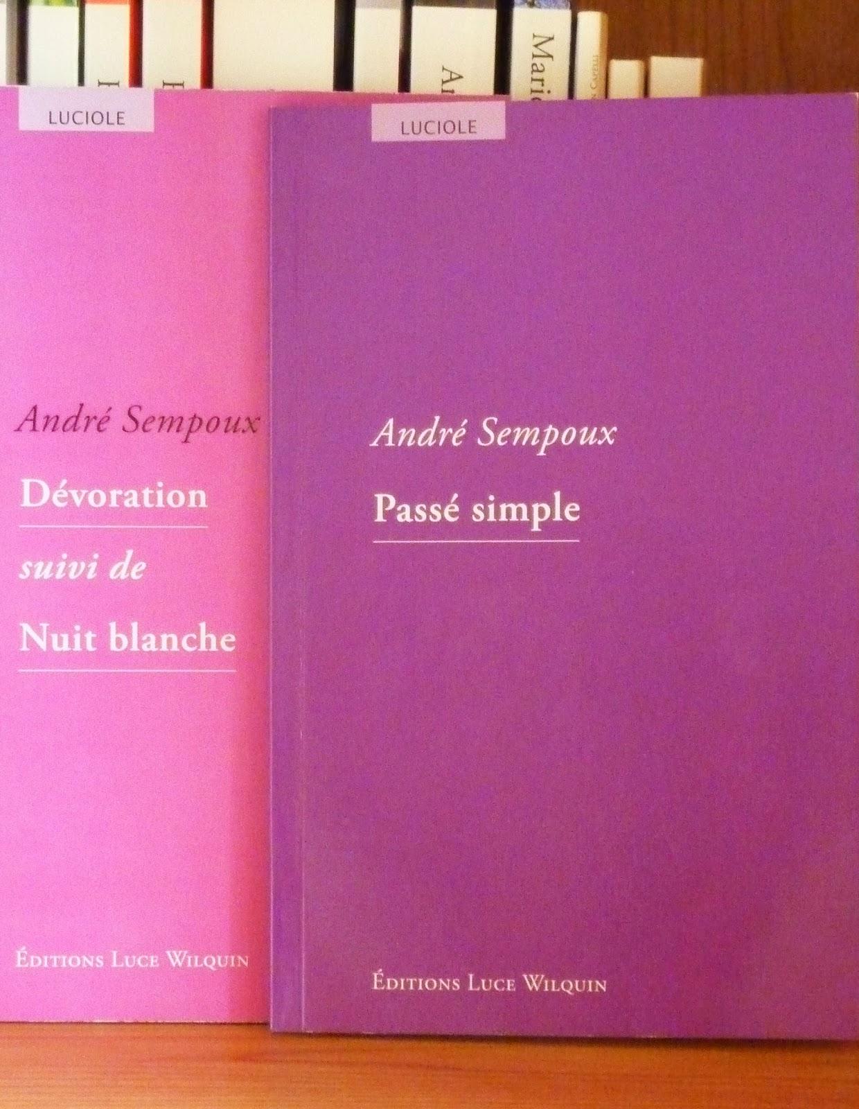 Passé simple - André Sempoux