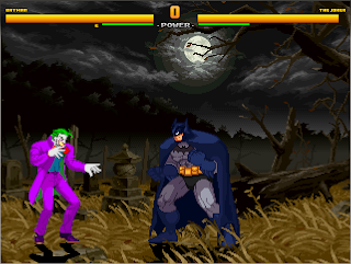 Superheroes 2000 Mugen v4 Batman vs Joker