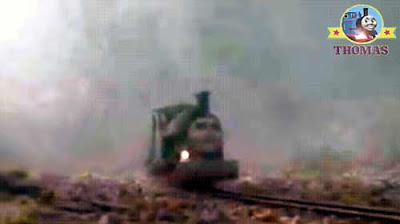 Island of Sodor railway narrow gauge engine Rusty diesel Thomas the tank engine ghostly sound