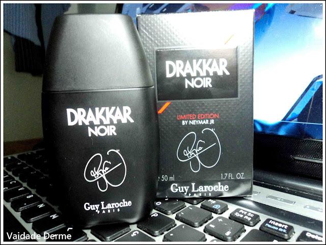Perfume Frances Edição Limitada Drakkar Noir com Neymar Jr da Guy Laroche