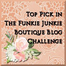 The Funkie Junkie Boutique Challenge #14; Cattywampus...Stars and Stripes Dreams
