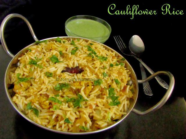 Spicy Cauliflower Rice