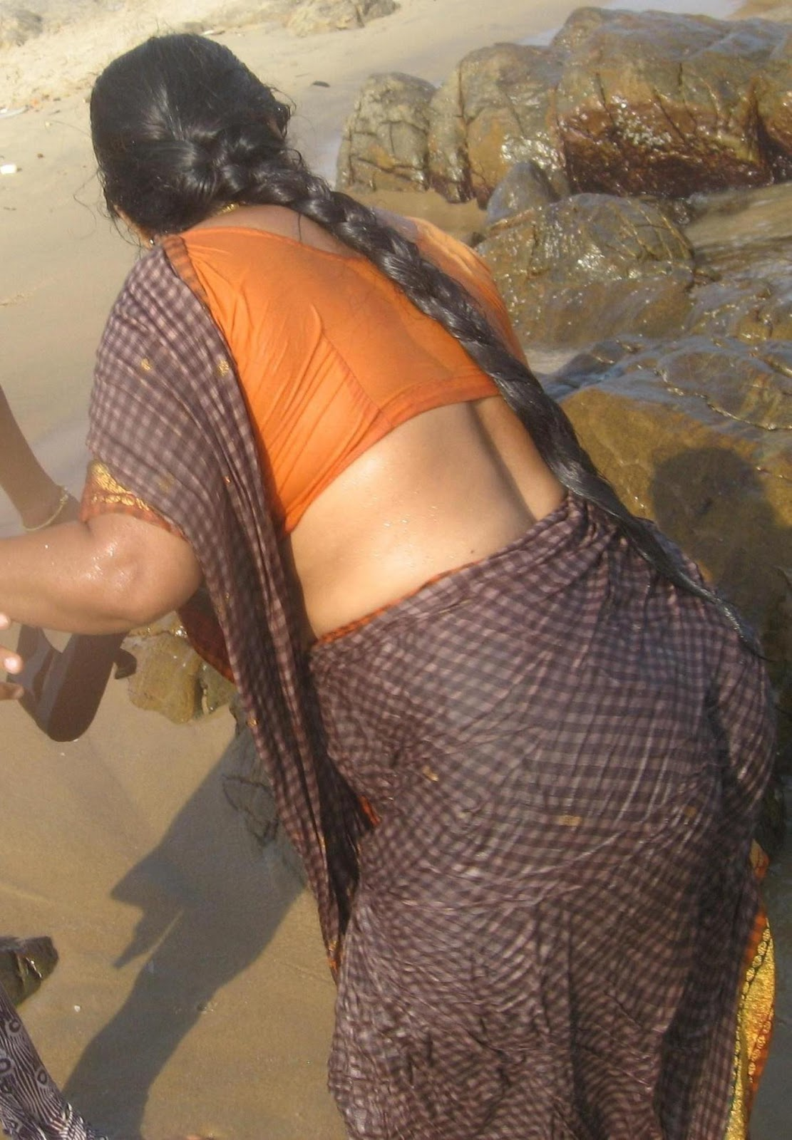 wow wet meaty saree amp salwar back in river to respected