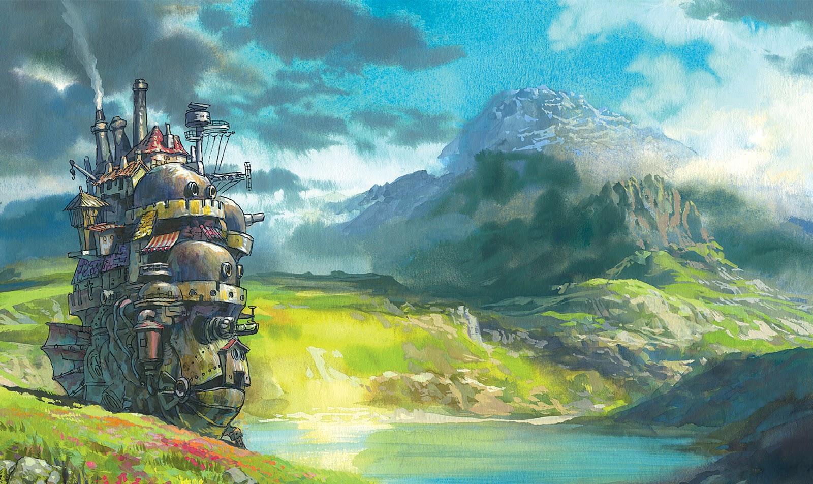 Home of Mini 720 Anime: Howl's Moving Castle 1080p BD