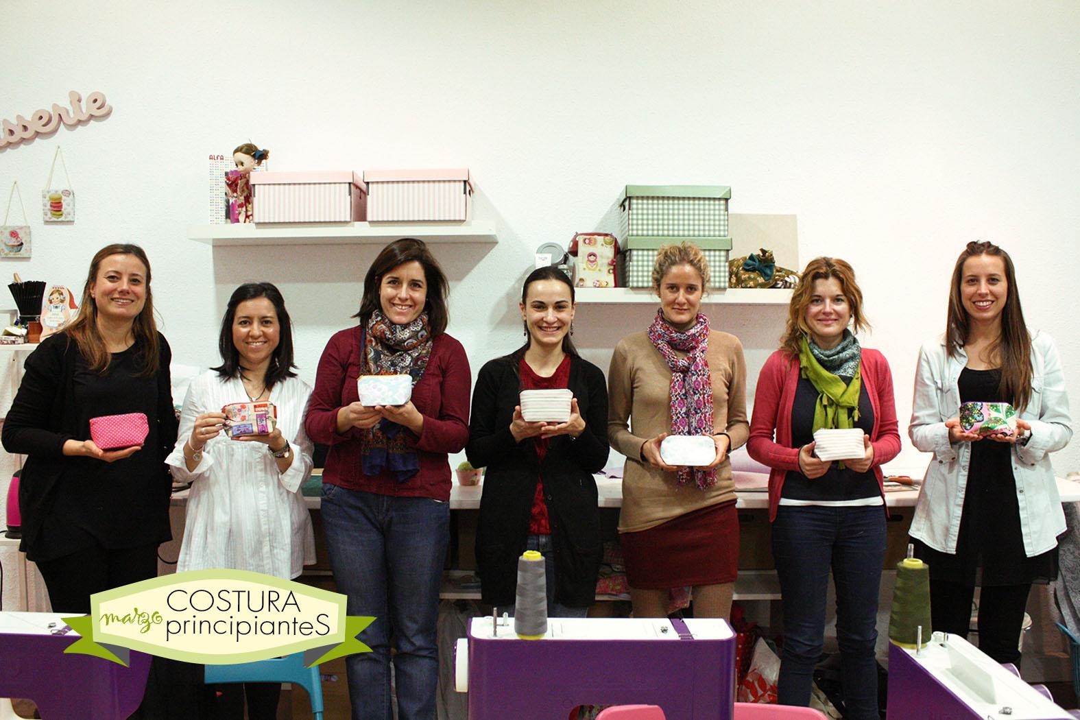 Sweet sixteen craft store tienda taller de labores for Taller de costura madrid