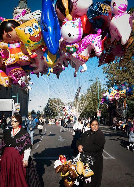 Globos - fiestas del Pilar 2013 - Balloons