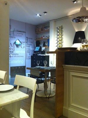 Interior del Restaurant Mug