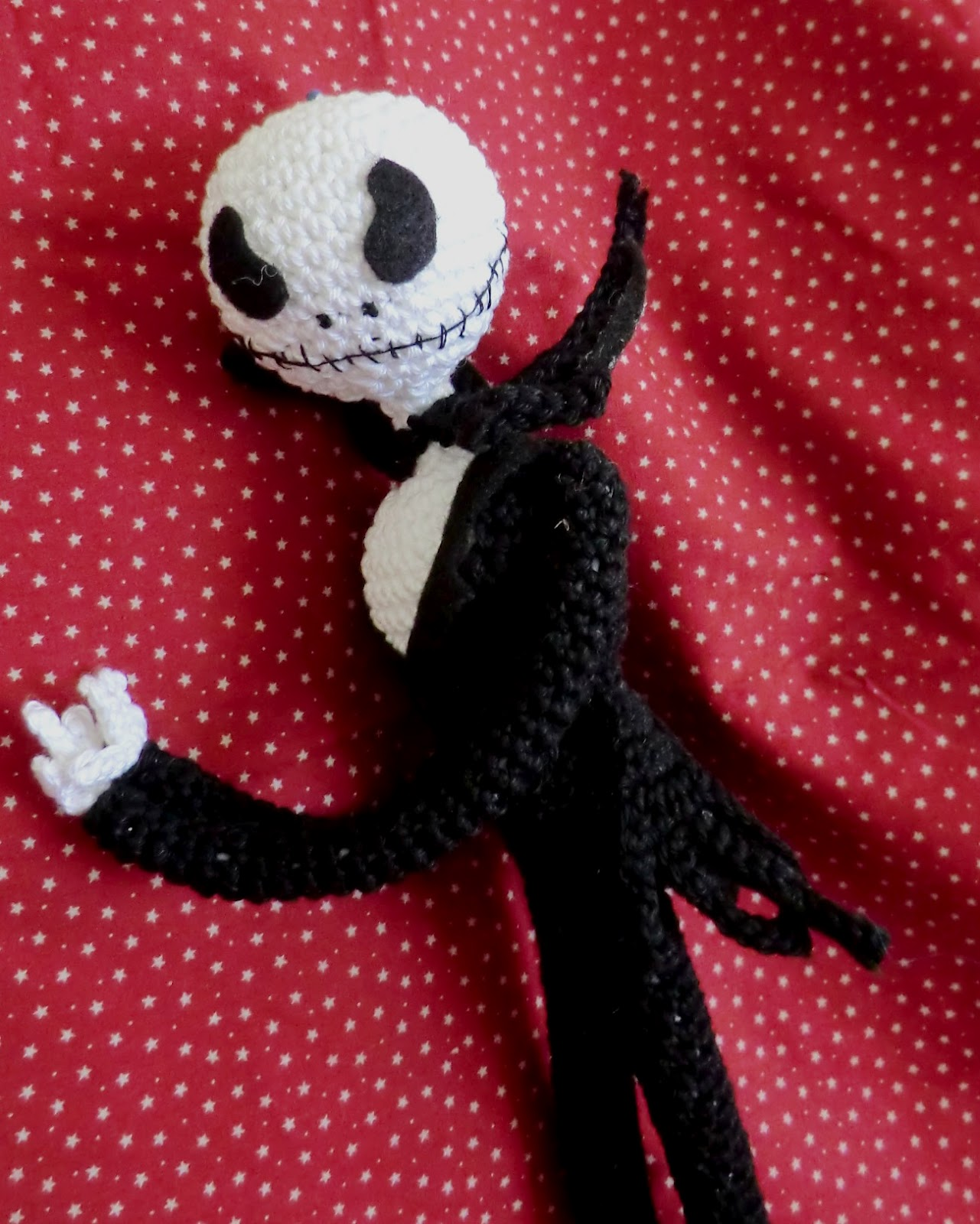 Amigurumi Jack Skellington Pattern : Amigurumi Barmy: This is Halloween