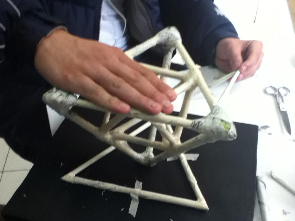 Estructuras metalicas como hicimos la armadura de periodico