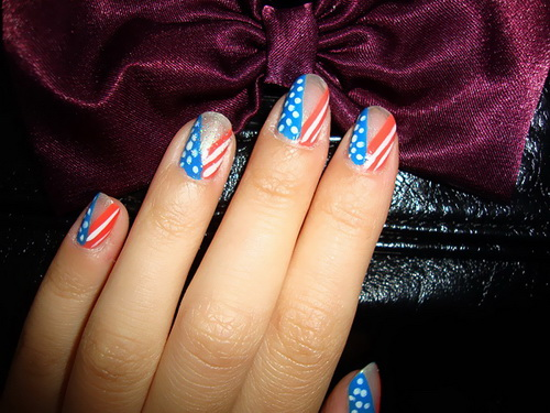 Classics, EVITA, flag, Golden Rose, Miss Selene, Nails, Paris Nail Lacquer, the U.S., Ultra Gloss Color