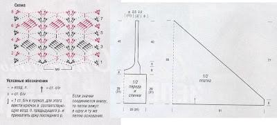Вязание крючком парео схемы и описание 96